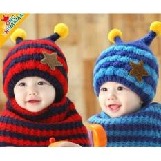 Combo mũ và khăn ống cho bé