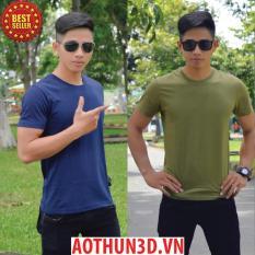 Combo2 áo thun nam đẹp, áo phông nam hàng hiệu xuất khẩu giá rẻ - AOTHUN3D.VN