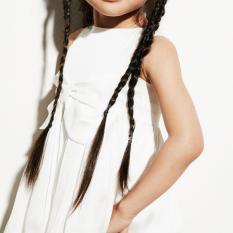 Giá Bán Rẻ Nhất Đầm Cong Chua Cao Cấp Silky Bowie Trắng