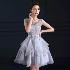 Mua Đầm Cong Chua Xoe Tầng Xeo Hana Fashion Xam Rẻ