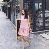 Bán Mua Trực Tuyến Đầm Nữ Đầm Đuoi Ca Rose Dress Sieu Xinh
