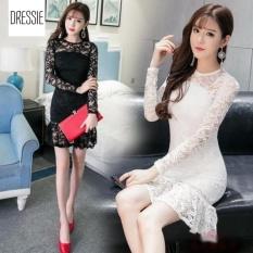 Mã Khuyến Mại Đầm Đuoi Ca Om Body Ren Đẹp Cao Cấp Thời Trang Dressie Db0913A Đen Trong Vietnam