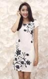 Mua Đầm Hoa Suong Nền Trắng Rẻ