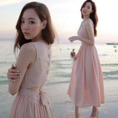 Bán Đầm Maxi Voan Cach Điệu Misa Fashion Ms100 Hồng Hồ Chí Minh Rẻ