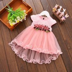 Cửa Hàng Đầm Mullet Be Gai Voan Hoa D275 Rẻ Nhất