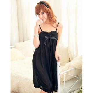 Đầm ngủ phi phối băng ren ngực CDAN23 Kim Phát (đen) thumbnail
