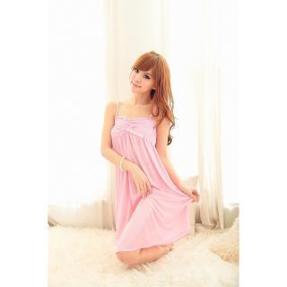 Đầm ngủ phi phối băng ren ngực CDAN23 Kim Phát (hồng) thumbnail