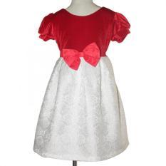 Ôn Tập Đầm Nhung Đỏ Gấm Trắng Be Gai 2 9 Tuổi Tri Lan Dbg040 Hồ Chí Minh
