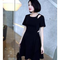 Giá Bán Đầm Nữ Khoet Eo Han Quốc Đen Trong Vietnam