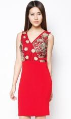 Giá Bán Đầm Om Đinh Kim Sa Bui Nguyen Dp305 Mới