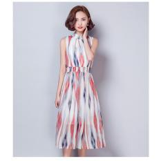 Bán Đầm Sọc Dang Dai Thời Trang Beyeu1688 By3176 Rẻ