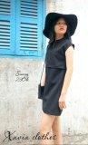 Đầm Suong Dạo Phố Xavia Clothes Sunny Đen Nguyên