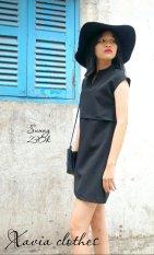 Cửa Hàng Đầm Suong Dạo Phố Xavia Clothes Sunny Đen Rẻ Nhất