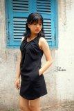 Bán Đầm Suong Xếp Ly Cổ Xavia Clothes Shion Đen Người Bán Sỉ