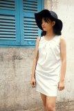 Mua Đầm Suong Xếp Ly Cổ Xavia Clothes Shion Trắng Mới
