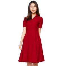 Bán Mua Đầm Vintage Cao Cấp Đỏ Trong Hồ Chí Minh