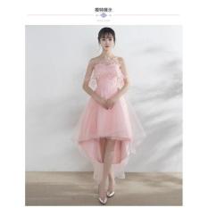 Ôn Tập Đầm Xoe Bẹt Vai Đuoi Tom Dự Tiệc Hana Fashion Oem