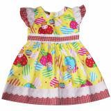 Đầm Xoe Cotton Cho Be Gai 2 9 Tuổi Dbg073 Vang Tri Lan Rẻ Trong Hồ Chí Minh