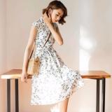 Đầm Xoe Họa Tiết Hoa Mai Trẻ Trung Năng Động Ngoctranshop Nt1041 Oem Chiết Khấu 40