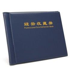 Hình ảnh Dark Blue Portable Money Penny 5 pages12pockets 5 pages24pockets 180Holders Collection Storage Coin Album Book Folder 12pockets - intl