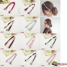 Dây buộc tóc vải xoắn phong cách Hàn Quốc mẫu DX10