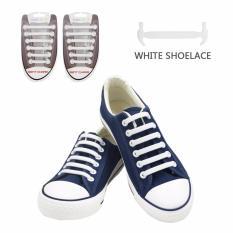Hình ảnh Dây Giày Cao Su VTIE Shoelace Mặt Nhám - Màu Trắng Bộ 12 Dây