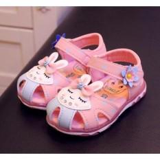 Giá Bán Dep Sandal Thỏ Hồng Co Đen 1 3 Tuổi Mới