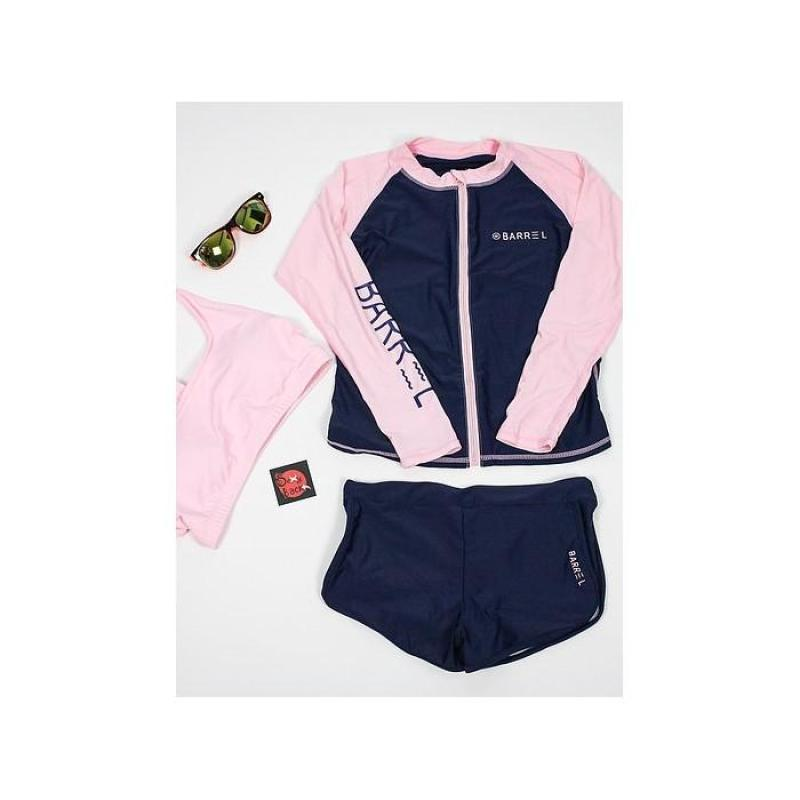 Nơi bán Đồ bơi bikini tay dàiset 3 mảnh hồng - BG1602