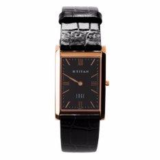 Nơi bán Đồng hồ nam dây da Titan 1043WL02 (Đen)