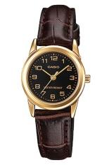 Nơi bán Đồng hồ nữ dây da Casio LTP-V001GL-1BUDF (Nâu)