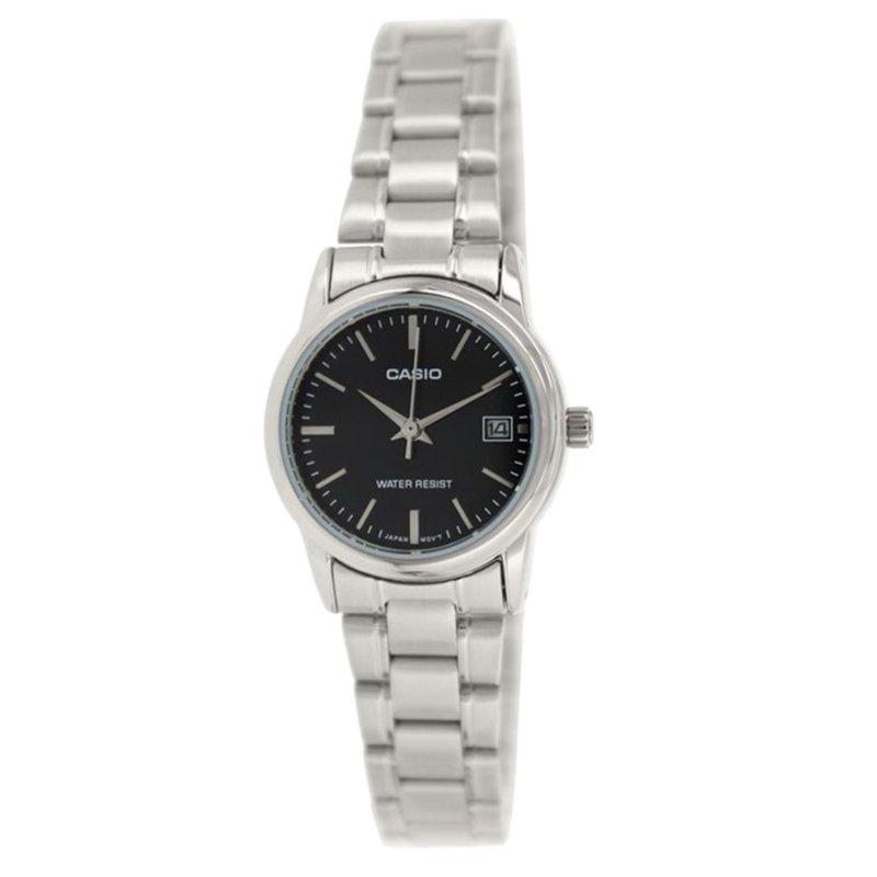 Nơi bán Đồng hồ nữ dây thép không gỉ Casio LTP-V002D-1AUDF (Bạc)