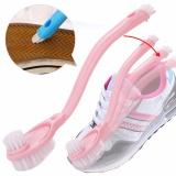 Đôi Dài Tay Cầm Bàn Chải Đánh Giày Bụi Cọ Rửa Vệ Sinh Vòi Chậu Lavabo Món Dụng Cụ Vệ Sinh-quốc tế