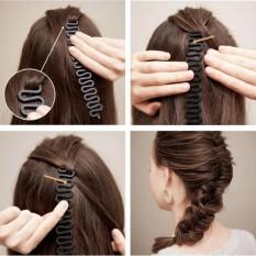 Dụng cụ kết tóc bằng nhựa cứng