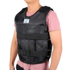 Hình ảnh Empty Weighted Vest Hand Wrist Leg Feet Weight Wrap Load Exercise Fitness - intl