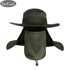 Mua Esogoal Mua He Hat Nắp Bảo Vệ Sập 360°Outdoor Cau Ca Co Miếng Cổ Mặt Nắp Bao Da Chỉ Số Upf 50 Mũ Lưỡi Trai Nam Nữ Xanh Quốc Tế Esogoal Rẻ