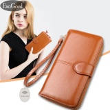 Bán Esogoal Women Large Capacity Leather Purse Clutch Wallet Bifold Checkbook With Phone Pocket Intl Trực Tuyến