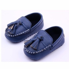 Giá bán THỜI TRANG Cho Bé cho bé tập đi giày giày cho bé MÀU XANH ĐEN-quốc tế
