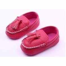 Giá bán THỜI TRANG Cho Bé cho bé tập đi giày giày cho bé HOA HỒNG-quốc tế
