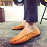 Mua Fashion Leather Slip On Men Driving Moccasins Loafers Casual Shoes England Dress Intl Trực Tuyến