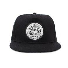 Thời trang Nam bóng chày Nón snapback Hip-Hop điều chỉnh bboy nón thể thao mũ đen MỚI-quốc tế Nhật Bản