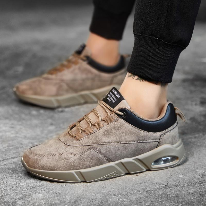 Giày thời trang Nam Chạy Bộ Thể Thao Ngoài Trời Mới Giày Kaki-quốc tế