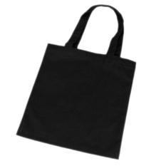 Fashion Women Girl Canvas Shopping Handbag Shoulder Tote Shopper Beach Bag Black - intl