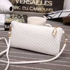 Bán Fashion Women Leather Clutch Shoulder Messenger Evening Bag Fish Scale Handbag White Intl Trực Tuyến Trung Quốc