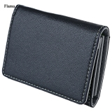 Giá Bán Rẻ Nhất Flama Novelty Pure Color Zigzag Folding Mini Money Card Wallet For Men Intl