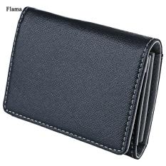 Cửa Hàng Flama Novelty Pure Color Zigzag Folding Mini Money Card Wallet For Men Intl Oem Trung Quốc