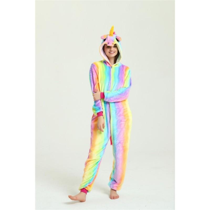 Nơi bán GETEK 2018 New Adult Unisex Kigurumi Pajamas Animal Cosplay Costume Onesi Sleepwear - intl