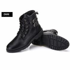 Giá Bán Giay Boot Nam Cổ Cao Đinh Khuy Cai Zani Zn5281B Đen Zani Nguyên