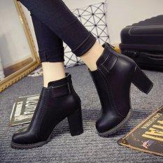 Cửa Hàng Bán Giay Boot Nữ Cổ Ngắn Đơn Giản Trẻ Trung Gbn14901