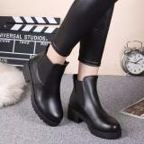 Bán Giay Boot Nữ Kiểu Han Quốc Doha Shop Sd59V668B Black Có Thương Hiệu Rẻ