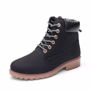 Giày Boot Nữ Lidus HH1823. Bảo hành 12 tháng. (Màu đen) thumbnail